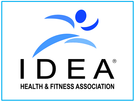 IDEA Health and Fitness Association logo Pilates Powell Dublin Ohio
